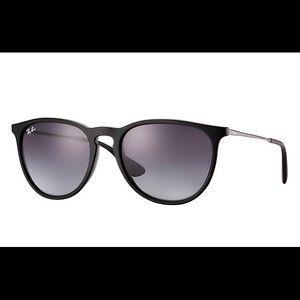 Black Ray-Ban Erika Sunglasses